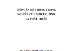 Giáo trình Tiếp Cận Hệ Thống Trong Nghiên Cứu Môi Trường Và Phát Triển – Nguyễn Đình Hòe